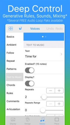 Intermorphic Wotja Generative Music Creation iOS App