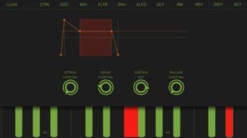 Mood Synth iOS app