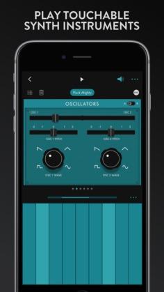 GrooveBox iOS app