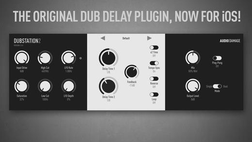 Dub Station 2 iOS app AUv3