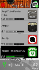 Amp Rack iOS App